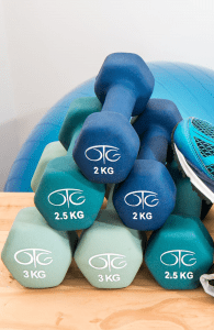 Dumbbells for Physical Therapy