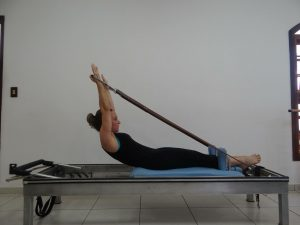woman using pilates for physical therapy